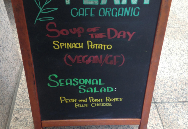 the plant café organic