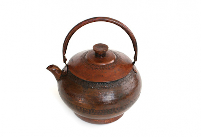 Copper Teapot from Nepal