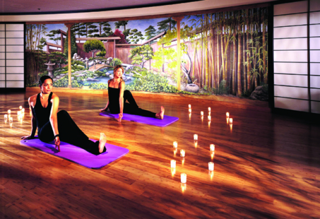 yoga in los angeles gyms