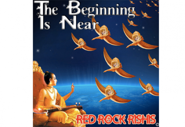 the red rock rishis - 'the beginning is near' & 'lotus eyes'