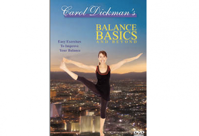 carol dickman yoga dvd: stretches and balances