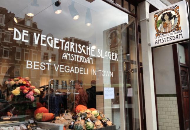 de vegetarische traiteur