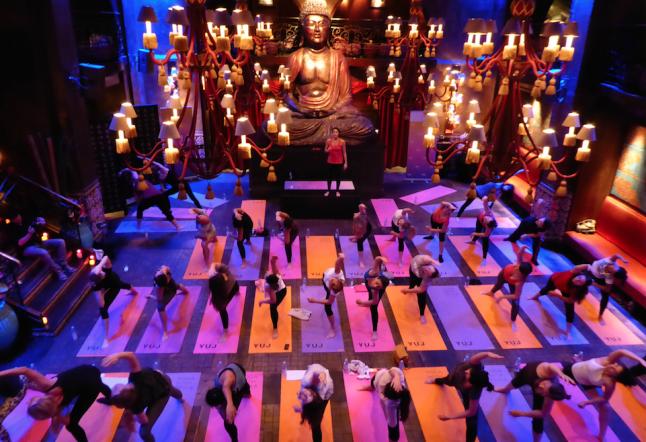 yoga au buddha-bar