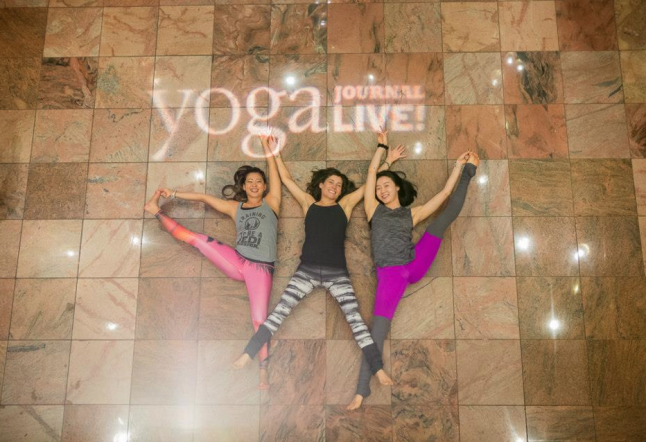 yoga journal live 2015 nyc conference