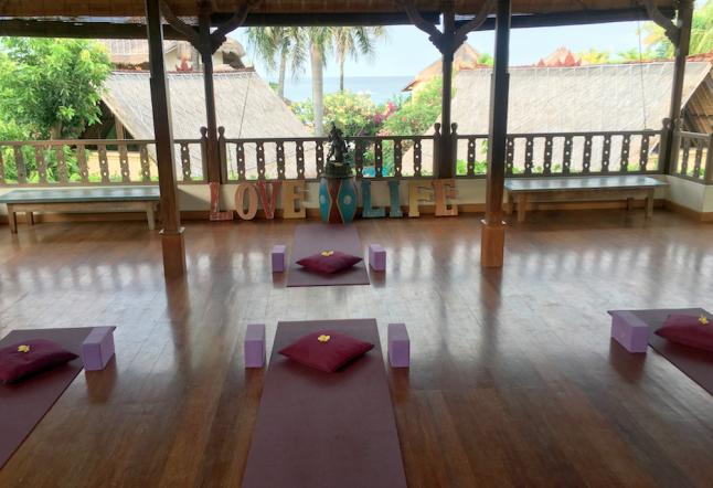 yoga shala at life in amed