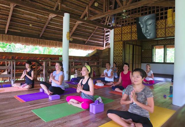 yoga barn panglao