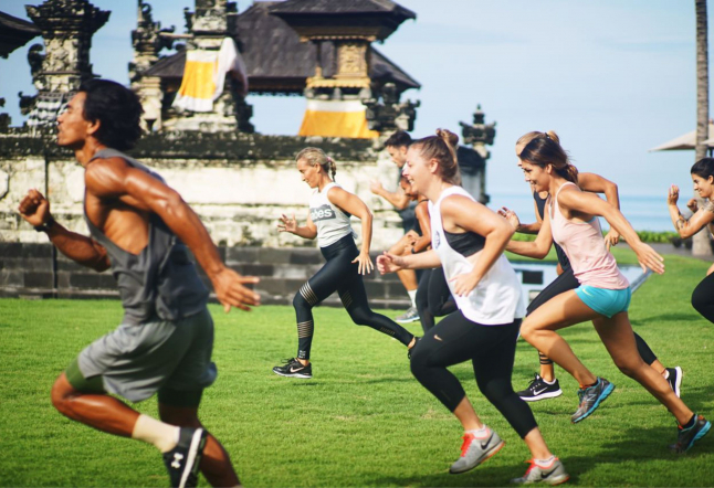 get fit, have fun at the alila seminyak