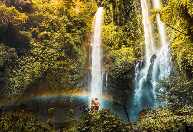 a waterfall guide to bali