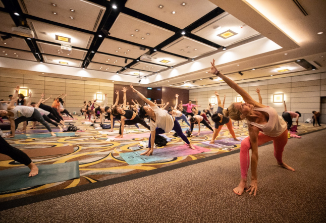 get your mat ready - the annual 2019 evolution asia yoga conference is back in hong kong