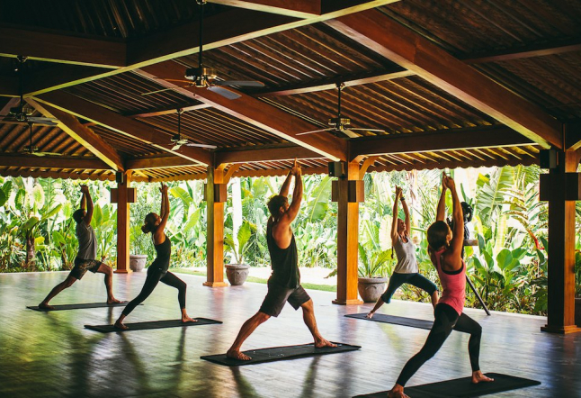 how much is a yoga class in bali?