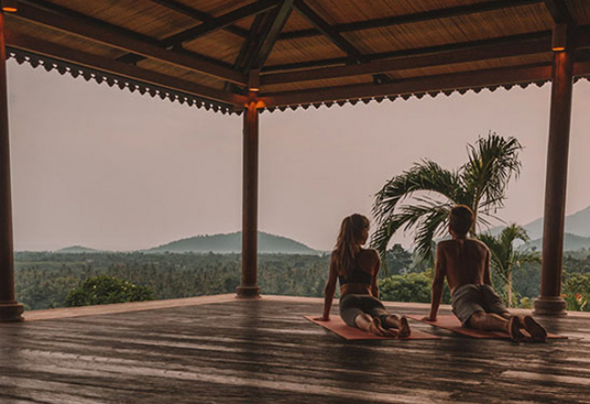 yoga in pemuteran