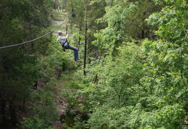 Flying High Above the Ozarks with Branson Zipline Canopy Tours
