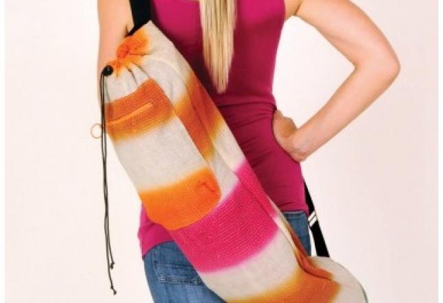 Kantha Yoga Bag by Krickette