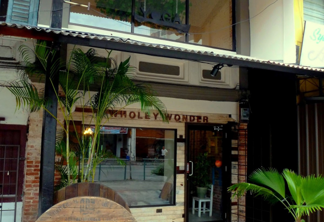wholey wonder yoga studio and vegan cafe