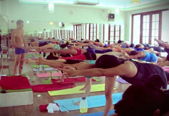 Bikram yoga 42