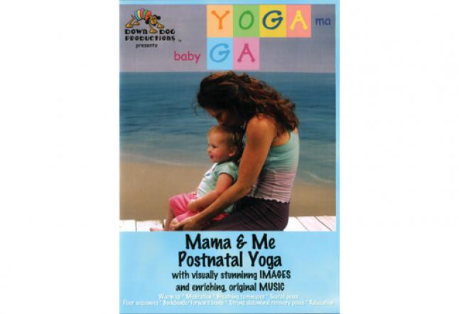 yoga ma baby ga