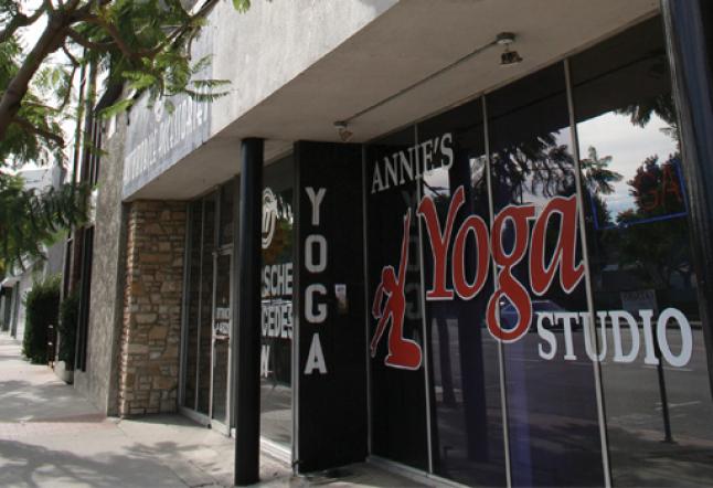 annie's yoga studio | now closed