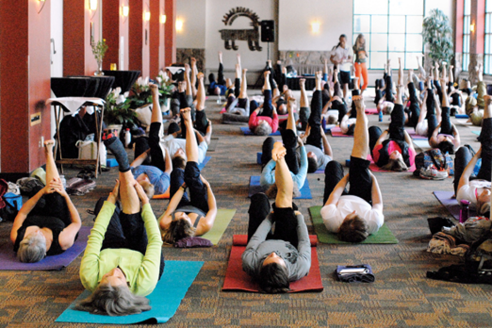 Mountain Pose Yoga Festival
