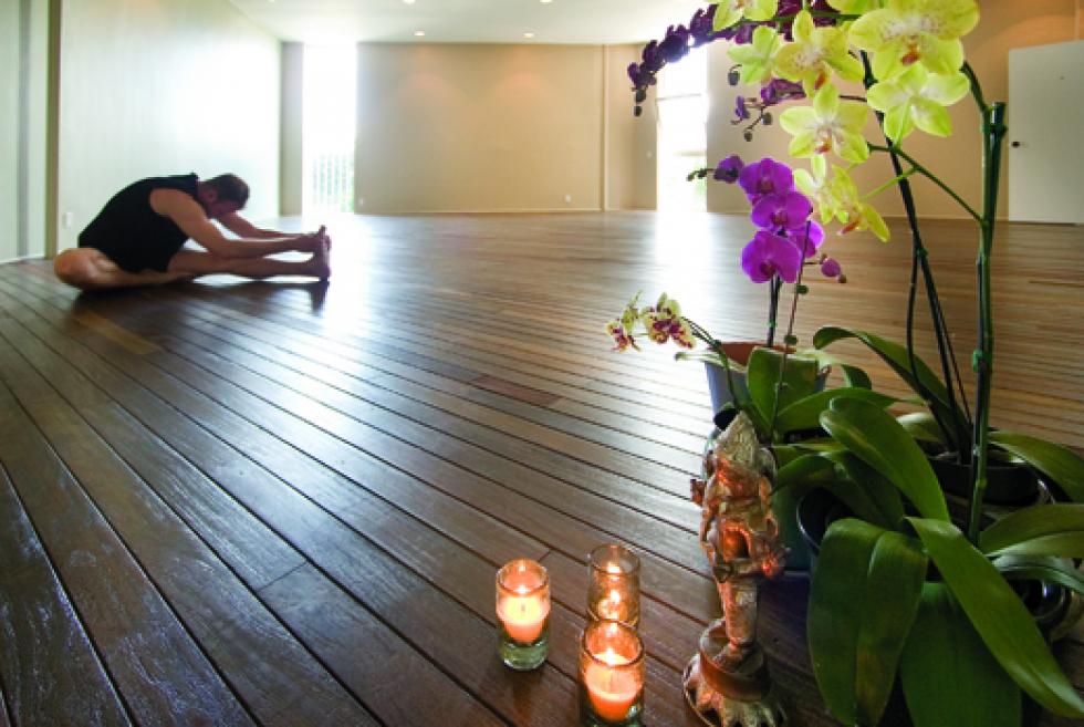 home simply yoga