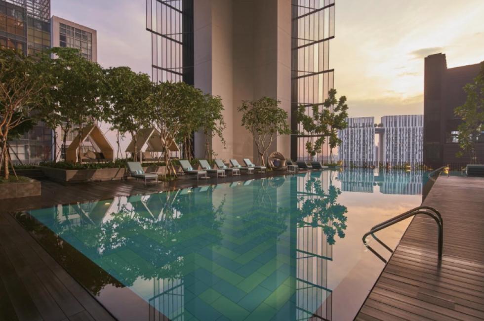 oasia hotel downtown, singapore