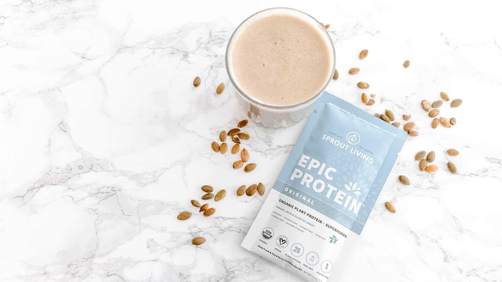 epic vegan protein powder