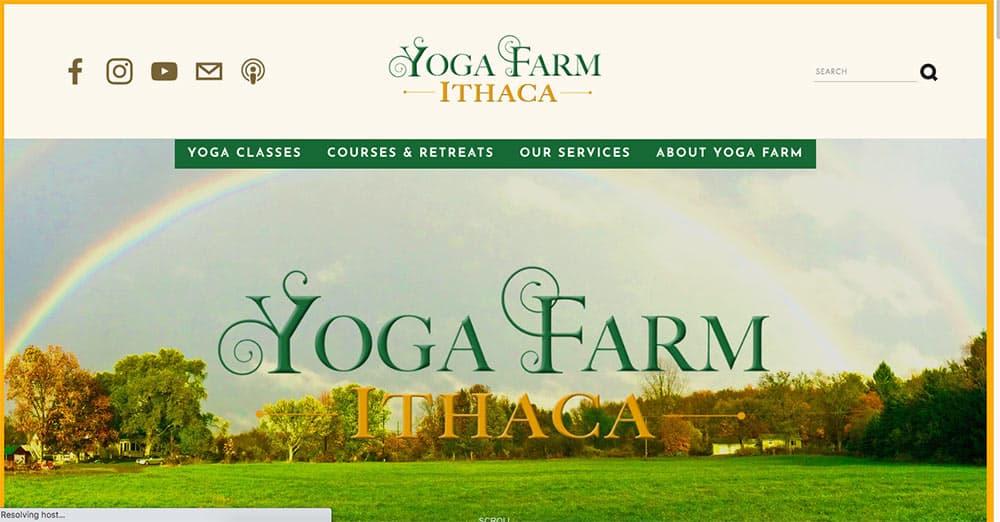 Captura de website instructor de cursos de yoga online el mejor estudio del ritmo de la persona aprende vinyasa Hatha Escuela Internacional de Yoga Online Hacerse profesor o profesora de yoga con un curso de monitor intensivo en linea